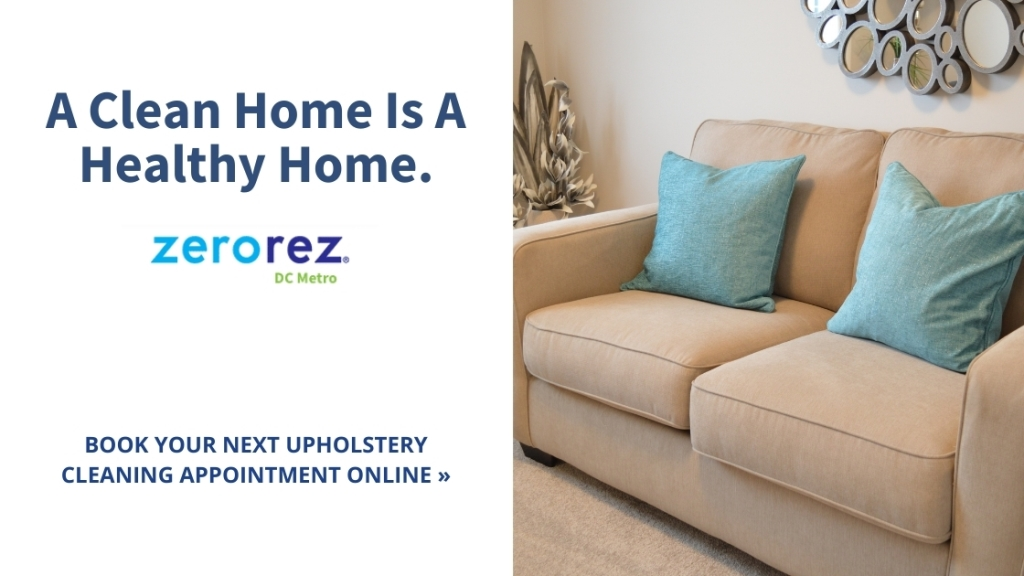 Book online - Upholstery cleaning services